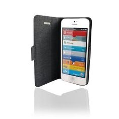 Case for iPhone 5   Specifically designed for iPhone 5 - Fits perfectly to protect your phone  No frame around the iPhone to fully display the beauty of the iPhone  Premium PU Leather material - durable and fashionable  iPhone is attached to adhesive silicon pad. It is removable and does not leave any stain on the phone.  $9.99