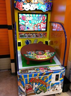 Super Table Flip Arcade A Anese In Which You Can Pound On The To Knock Few Things Room Over At End Grab