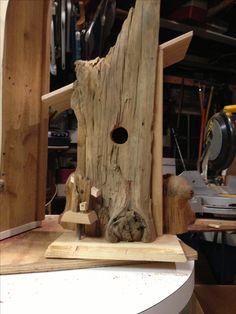Drift wood Bird house