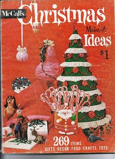 1962 McCalls Christmas Makeit Ideas Recipes by TheIDconnection, $30.00