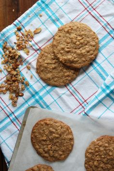 Granola Cookies:If you think you like oatmeal cookies, then you simply must try making Granola Cookies. They are everything an oatmeal cookie should be, taken to the next level.