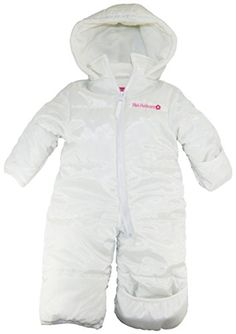 2f2bfb3e3634 Pink Platinum Baby Girls Solid One Piece Snowsuit Pram Bounting Winter  Jacket