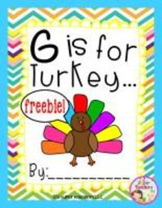 G Is For Turkey...Class Book