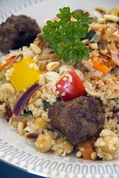 Tunesische Couscous - Brenda Kookt