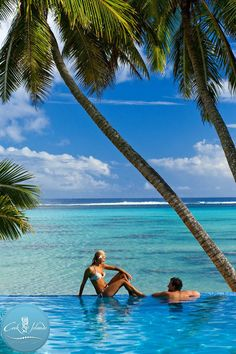 Beautiful snapshot of your very own Pacific paradise in the Cook Islands.  The 15 islands of the Cooks lie halfway between New Zealand and Hawaii in the South Pacific, scattered like fragrant frangipani petals floating across 2.2 million square kilometres of a seductive, sensual ocean.