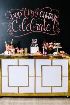 Gilded bar: http://www.stylemepretty.com/collection/2244/
