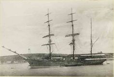 """""""City of Adelaide"""" converted to a barque, 1882"""