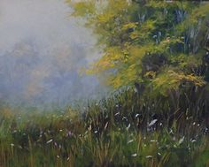 """The Wild Flowers#2 by Kathy McDonnell Pastel ~ 8"""" x 10"""""""