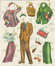 Paper Dolls~Trudy Phillips and her crowd