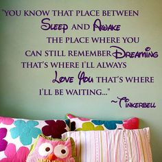 Love this saying. Would be beautiful for a baby room..... Never land themed