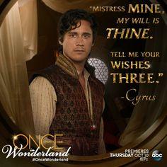 """Mistress mine, My will is thine."""