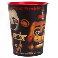 1ct Five Nights at Freddys Plastic Table Cover