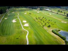 Golf Vilalba - Tomas aéreas - Primeros vuelos de contacto con el escenario