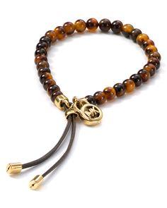 Michael Kors Tortoise Shell Beaded Bracelet - Bracelets - Jewelry - Jewelry & Accessories - Bloomingdale's#fn=spp%3D16%26ppp%3D96%26sp%3D2%26rid%3D52#fn=spp%3D16%26ppp%3D96%26sp%3D2%26rid%3D52