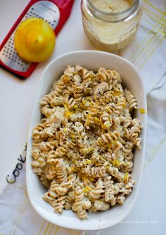 Creamy Dairy Freen Vegan Alfredo Pasta Bake -Makes a LOT of sauce; can reduce to 2/3 or increase veggies by A LOT