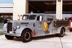 1950 Oren/Corbitt Pumper.....Roanoke, VA FD....