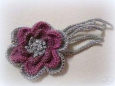 Вяжем повязку-чалму крючком | Журнал Ярмарки Мастеров Crochet Necklace, Projects To Try, Floral, Flowers, Easter, Jewelry, Woods, Florals, Jewlery