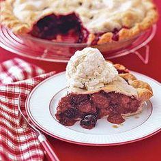 Berry Ginger Pie   MyRecipes.com