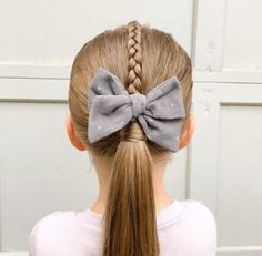New Short Haircuts Easy Toddler Hairstyles, Easy Little Girl Hairstyles, Cute Braided Hairstyles, Cute Hairstyles For Short Hair, Hairstyles For School, Ponytail Hairstyles, Hairstyles Videos, New Short Haircuts, Popular Short Hairstyles