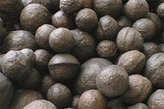 Moqui Marbles (also known as Shaman Stones or Thunderballs) are sedimentary concretions.