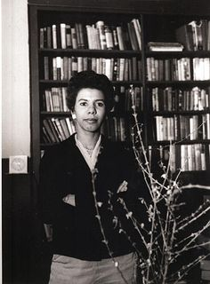 """Lorraine Hansberry, the playwright behind the enduring play, """"A Raisin in the Sun,"""" in January Vintage Black Glamour Lorraine Hansberry, Vintage Black Glamour, Playwright, My Black Is Beautiful, African American History, Black History, In This World, Black Women, Singer"""