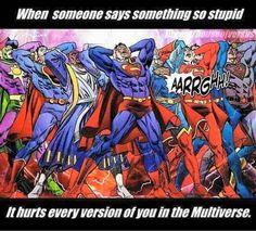 I guess the idiocy starts early on #wednesday #humpday  #geek #gamer #nerdhumor #comics #superheros #dccomics #superhero #cartoons #superman  #ijs