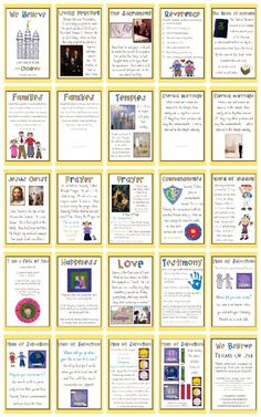 Church Quiet Book Printable