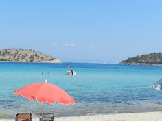 Greece, Sithonia, Lagonissi beach