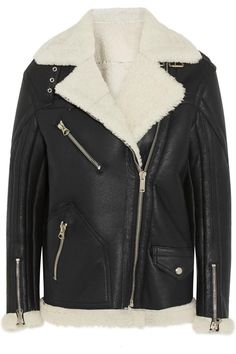 Net-A-Porter's Biannual Sale Just Kicked Off - Golden Goose Deluxe Brand Fay Oversized Shearling Coat