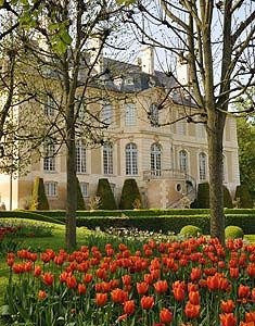 gardens of the Chateau de Vendeuvre