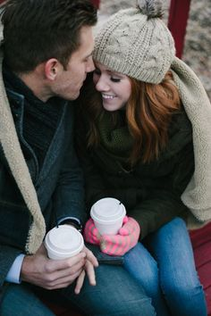 Inspired by This Cozy Christmas Tree Farm Anniversary Shoot by Jamison Elizabeth Photography - Inspired By This