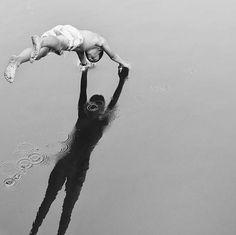 Dive, 1935, by André Kertész. Wow! What a shot.
