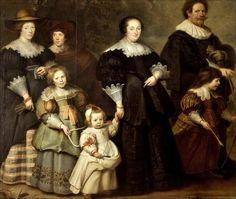 Cornelis de Vos · Autoritratto con moglie e figli · 1630 · Hermitage · Sankt-Peterburg