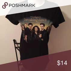 Twilight Saga Breaking Dawn Part 2 T Shirt New Without Tags                                                           Smoke Free Pet Free Home Tops Tees - Short Sleeve