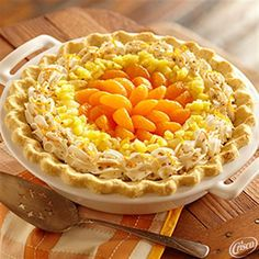 Ambrosia Cream Pie from Crisco®