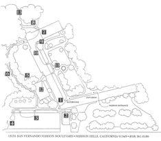 San Fernando Mission Map