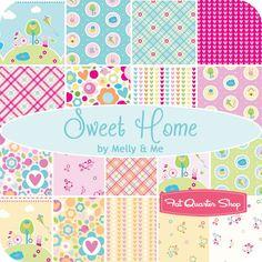 "Sweet Home 2.5"" Rolie Polie Melly & Me for Riley Blake Designs - Fat Quarter Shop"