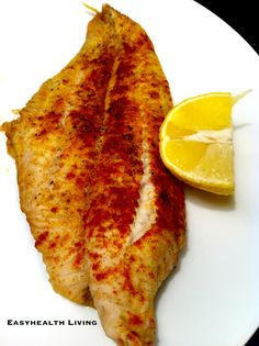 Easy Low Carb Baked Fish- a quick recipe with lots of flavor!