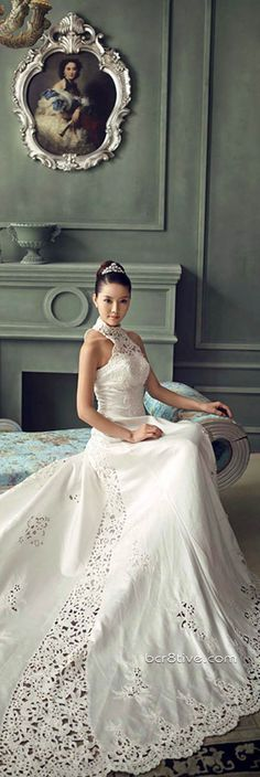 Fashion Editorial Photos of Model, Miranda Zhao Yu Fei #bridal #gown