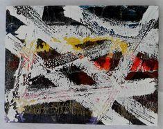 """G.A.Zanussi, """"tabula rasa #00"""". Arte contemporanea quadro 35 x 45, opera a tecnica mista su tela 2017"""