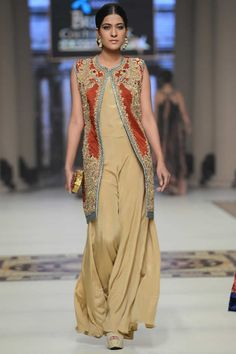 Teena by Hina Butt Collection at Telenor Bridal Couture Week 2014.