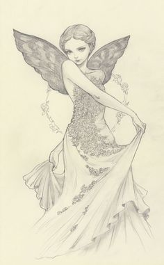 Original Pencil Drawing:
