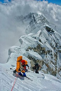 Hillary step. Everest