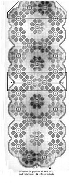 Home Decor Crochet Patterns Part 152 - Beautiful Crochet Patterns and Knitting Patterns Filet Crochet Charts, Crochet Diagram, Crochet Motif, Crochet Doilies, Crochet Stitches, Crochet Snowflake Pattern, Crochet Cross, Crochet Squares, Crochet Home