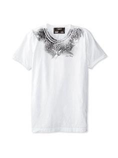 58% OFF Dom Rebel Men's Holy Crew Neck T-Shirt (White)