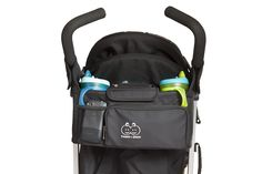 New Stroller Organizer by Freddie and Sebbie - More Info Here: http://www.amazon.com/Stroller-Organizer-Guaranteed-Accessories-Investment/dp/B00CKYPV08/