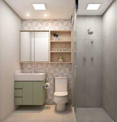 Home Room Design, Bathroom Design Small, House Rooms, Bathroom Inspiration, Bathroom Interior, New Homes, Home Decor, Bathroom Sink Cabinets, Bathroom Furniture