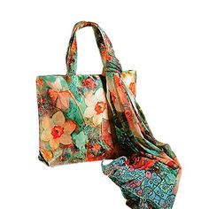 Celebrations Garden Flora Bag with Scarf - http://weddingcollections.co.in/product/celebrations-garden-flora-bag-with-scarf/