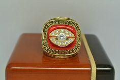 Custom 1969 CHIEFS IV CHAMPIONSHIP RING - Chiefs Rings - Football
