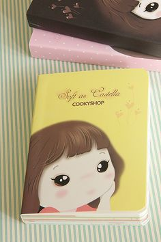 Kawaii Illustration Note Book - Soft as castella